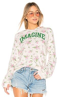 Купить Свитшот imagine - Pam & Gela, Свитшоты и худи, США, Кремовый