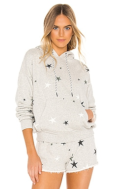 Pleat Back Star Hoodie Pam & Gela $137