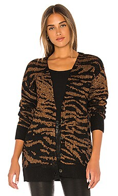 Tiger Cardigan Pam & Gela $58 (FINAL SALE)