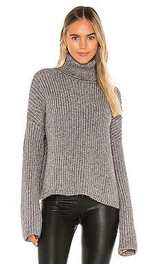 Lurex Marled Turtleneck Pam & Gela $80
