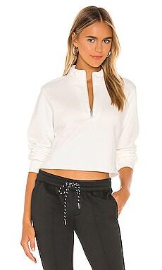 Crop Half Zip Sweatshirt Pam & Gela $73
