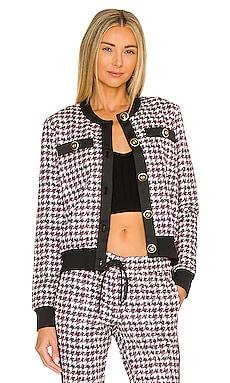 Crop Buttoned Jacket Pam & Gela $375 NEW