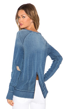 Pam & Gela Annie Sweatshirt in Indigo Wash