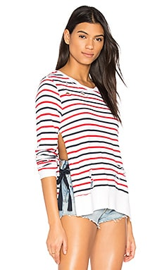 Stripe Print Fleece