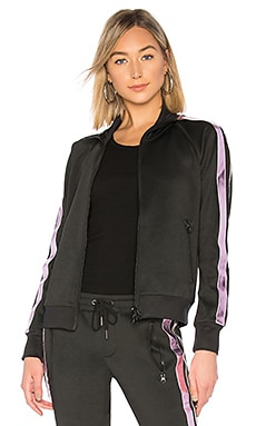 Metallic Stripe Track Jacket Pam & Gela $163