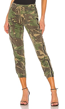 Side Stripe Cargo Pant in Army Camp Pam & Gela $173