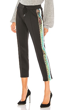 Sequin Stripe Crop Track Pant Pam & Gela $265 NEW ARRIVAL