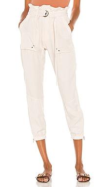 Paperbag Waist Pant Pam & Gela $245 NEW