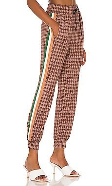 Houndstooth Crop Track Pant Pam & Gela $245 BEST SELLER