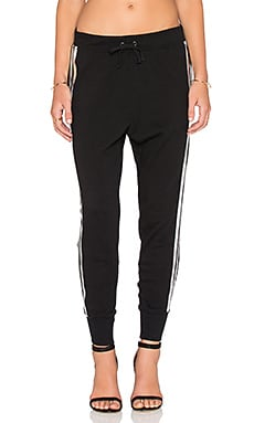 Pam & Gela Betsee Sweatpant in Black