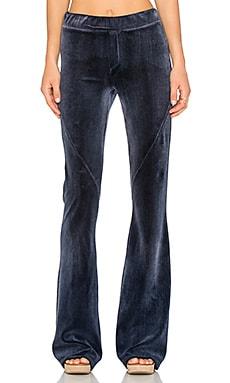 Pam & Gela Gela Skinny Flare Pant in Indigo Wash
