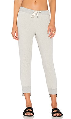 Sweatpant with Uneven Hem