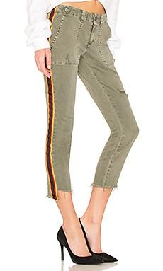 Uniform Side Stripe Step Hem Pam & Gela $245