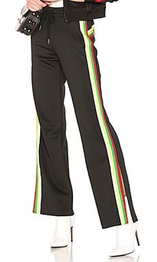 Rainbow Sportstripes Hi Waist Trouser Pam & Gela $104