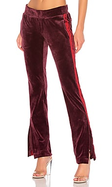 Фото - Спортивные брюки - Pam & Gela цвет красное вино