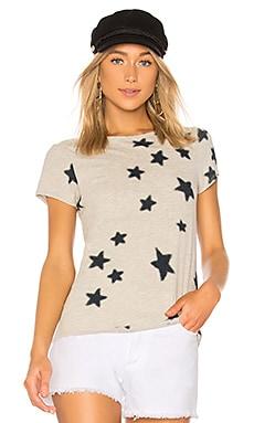 Star Print Basic Tee Pam & Gela $95 BEST SELLER