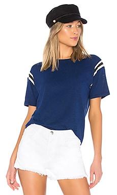 Football Stripe Short Sleeve Tee Pam & Gela $95 BEST SELLER