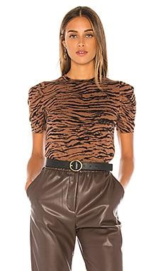 Tiger Puff Sleeve Tee Pam & Gela $135