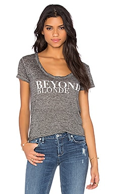 Pam & Gela Beyond Scoop Neck Tee in Heather Grey