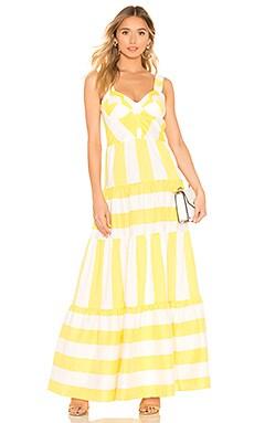 Porto Dress Paper London $179