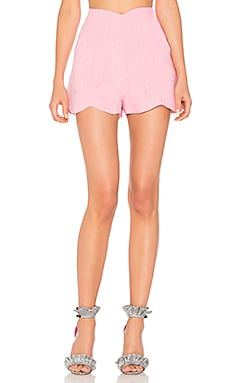Fraise Shorts in Pink & White Melange