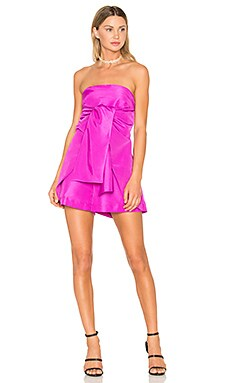 Bow Romper in Pink