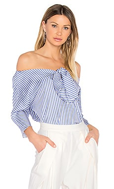 Knot Top in Sea Blue
