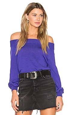 Bella Top en Indigo