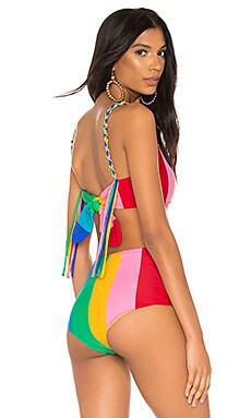 Sunshine Bikini Top Paper London $56