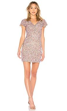 Купить Платье audrey - Parker Black розового цвета