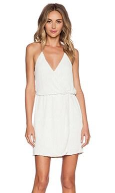 Parker Black Catarina Sequin Dress in White