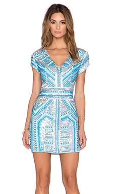 Parker Black Serena Dress in Sky Blue