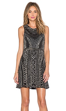 Parker Black Allegra Sequin Dress in Black