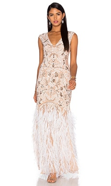 Parker Black Luv AJ x Parker Black for REVOLVE Bridal Gown in Nude