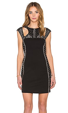 Parker Black Chris Dress in Black