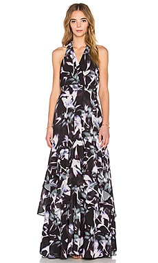 Parker Black Alofa Dress in Electric Lily