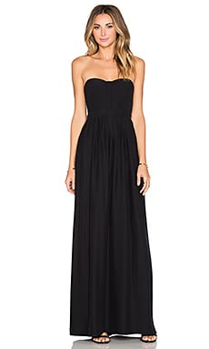 Parker Black Bayou Dress in Black