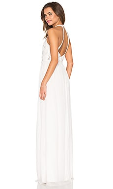 Parker Black Cassey Dress in White