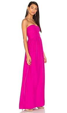 Parker Black Bayou Dress in Hot Magenta