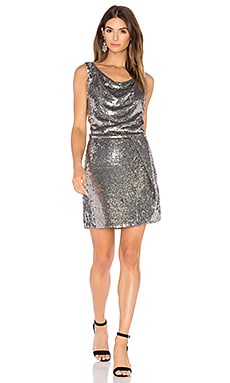 Reagan Dress in Antique Silver