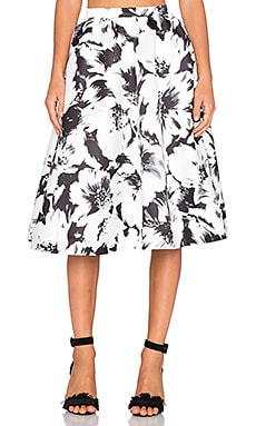 Parker Black Luisa Skirt in Grand Magnolia