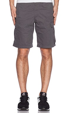 Patagonia Borderless Cargo Shorts in Forge Grey