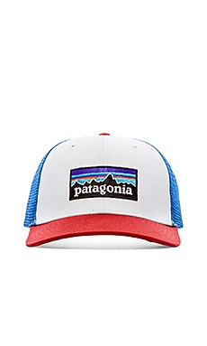 Patagonia Trucker Hat P-6 in White