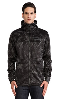 Patagonia Slopestyle Hoody in Storm Front Black