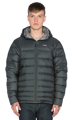 Patagonia Hi-Loft Down Hoody in Forge Grey