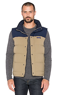 Patagonia Bivy Down Vest in Ash Tan