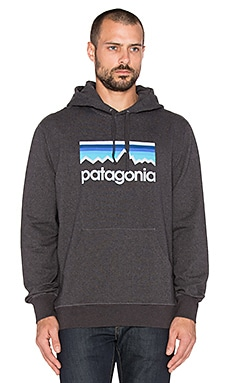 Patagonia Line Logo in Black