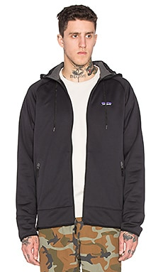 Patagonia Tech Fleece Hoody in Black