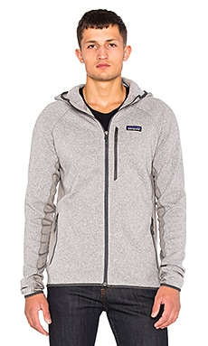 Patagonia Performance Better Sweater Hoody in Feather Grey