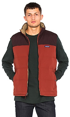 Patagonia Reversible Bivy Down Vest in Cinder Red